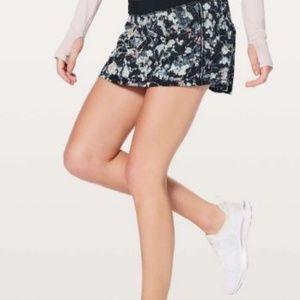 Lululemon Spring Bloom Pace Rival Skirt